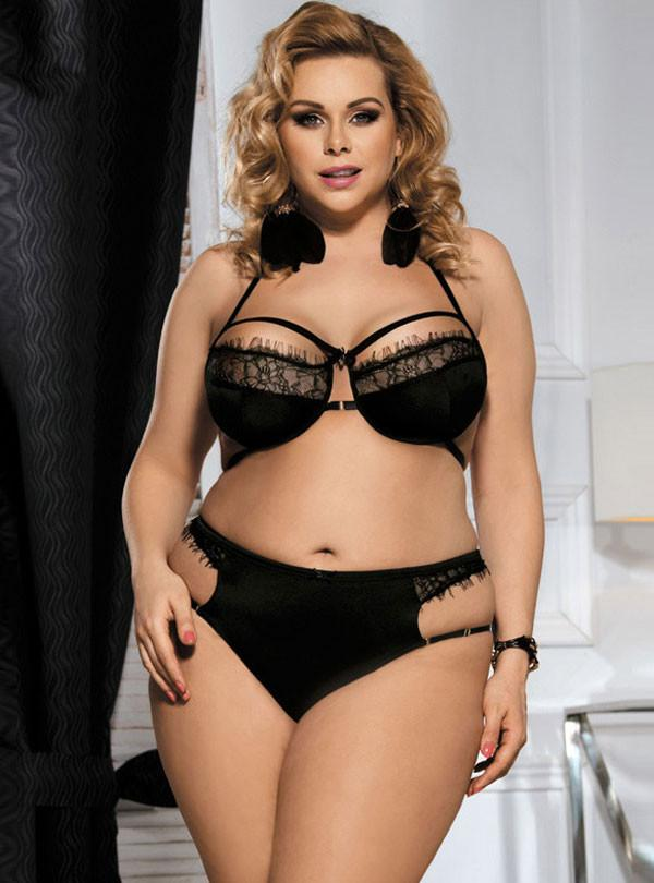 Lingerie in plus sizes for woman